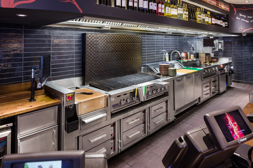 Commercial Kitchen Grill Cook